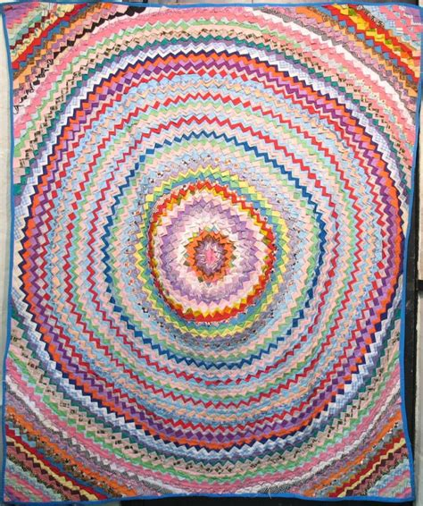 Target Quilts by Monumental Single Target One Large Circle Vintage Quilt