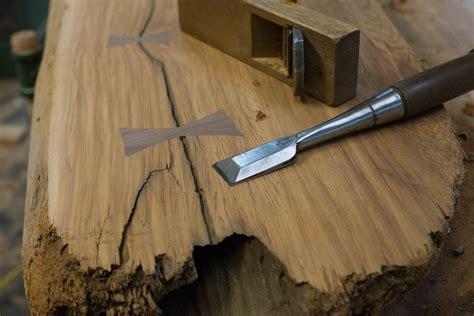 woodworking diy bow tie splines  edge furniture