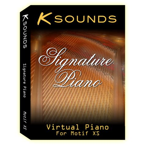 Sound Bank Systematic Sounds Signature Series motif xs voice library