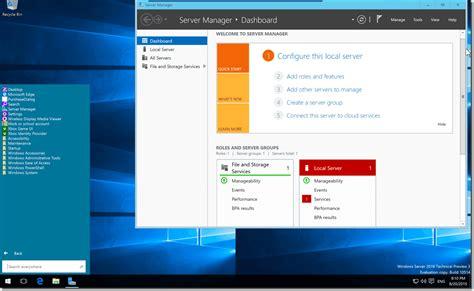 Server Microsoft microsoft windows server 2016 technical preview 4 fxp