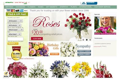 just for you flowers coupon