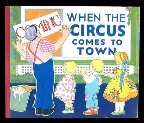 j c comes to town books when the circus comes to town a cat 22 c modern picture