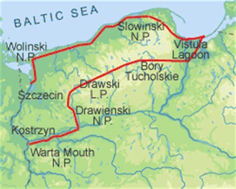 pomeranian coast pomeranian lake district and the baltic coast eko tourist