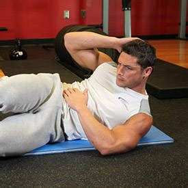 decline oblique crunch exercise guide and
