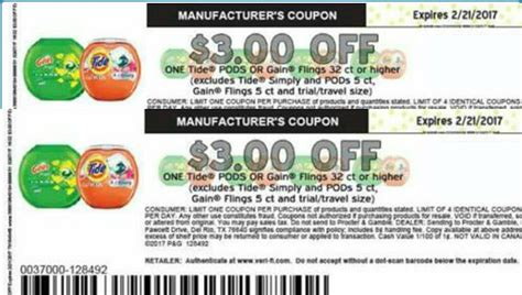 coupons gain pods