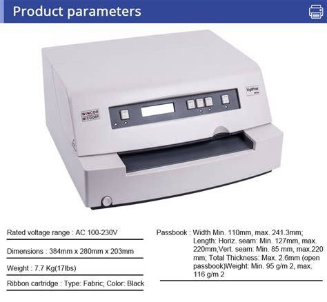Printer Passbook original new wincor nixdorf 4915xe passbook printer for bank buy wincor nixdorf printer wincor
