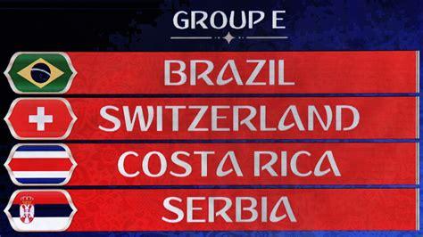 grupo brasil mundial 2018 el verdadero grupo de la muerte de rusia 2018 seg 250 n el
