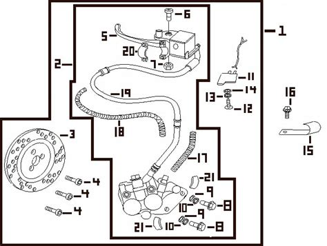 wiring diagram for 150cc gy6 scooter wiring for 50 cc