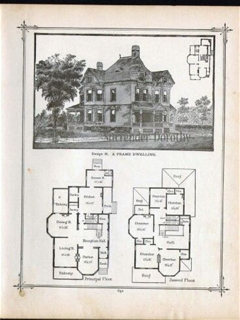 historic victorian floor plans gothic house and victorian on pinterest