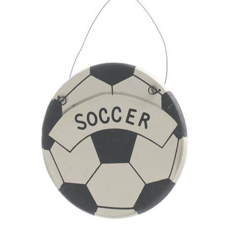 soccer ornament quot soccer quot wooden ornament sign signs ornaments home decor