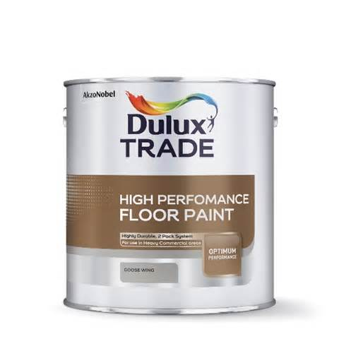dulux trade high performance floor paint colours 1 78l