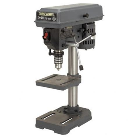 bench drill press reviews review harbor freight bench top drill press by