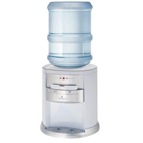 vitapur vitapur countertop water dispenser white home