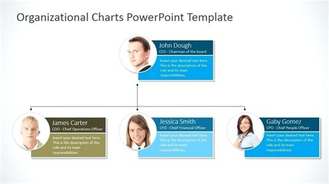 power point org chart template template organizational structure ppt template