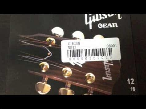guitar strings medium vs light elixir vs d addario vs gibson doovi
