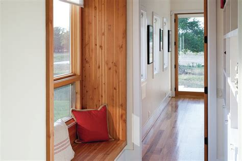 custom window seat cost window bench turns narrow hallway into cozy nook builder