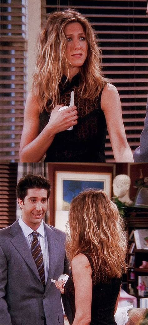 Rachel Greene Wavy Hair | jennifer aniston rachel green rachel green style