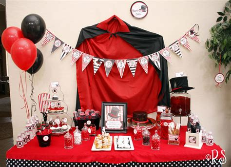party themes magic magic party renee s soirees