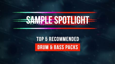 best drum and bass top 5 best drum and bass sle packs by loopmasters