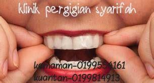 Rawatan Pemutihan Gigi Di Klinik Swasta klinik pergigian syarifah pemutihan gigi murah
