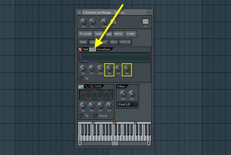 volume envelope pattern fl studio volume envelope tension settings how to make electronic