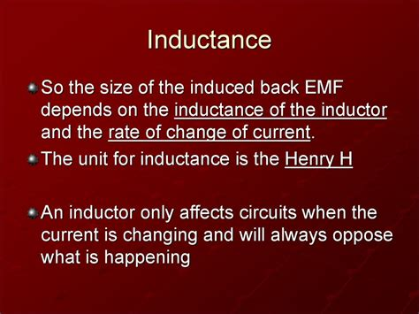 powerpoint inductor inductors powerpoint 28 images what is inductor ppt 28 images l6 inductor w12d1 rc and lr