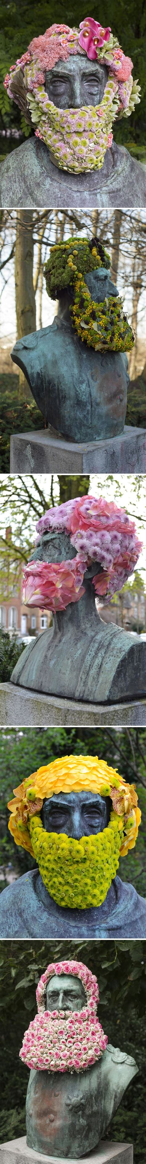 geoffroy mottart 17 best ideas about flower installation on pinterest art