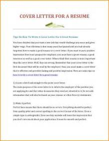 cover letter sle for fresh graduate how to write a