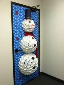 Snowman Door Decoration by Kari Swan S Door
