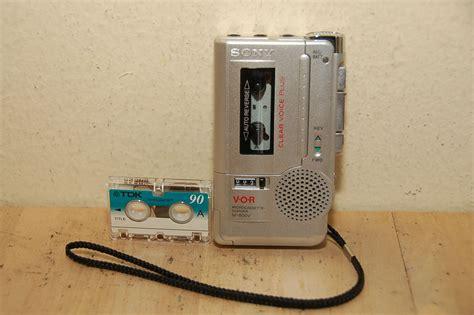 micro cassette player sony micro cassette recorder m 800v vor ultra compact