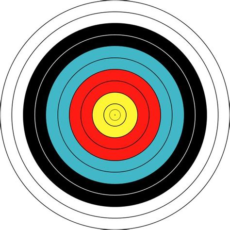 printable bow shooting targets print your own archery target brave party pinterest