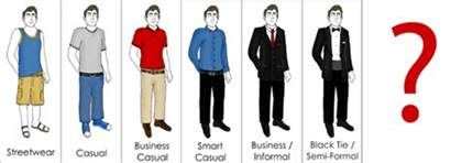 formal business attire dress code quotes