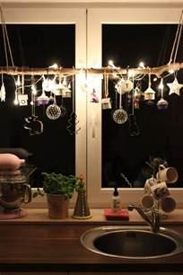 fenster dekoration fensterdeko zu weihnachten basteln charmante diy ideen
