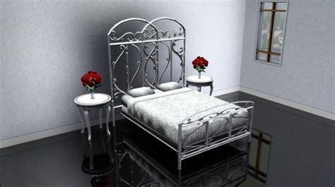 infabbrica ethos wrought iron bed with tufted headboard fantastically scorching wrought iron bedroom furnishings