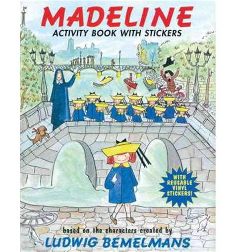 madeline picture book madeline activity book with stickers ludwig bemelmans