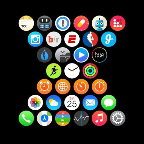 app layout apple watch apple watch users show off their creativity with custom