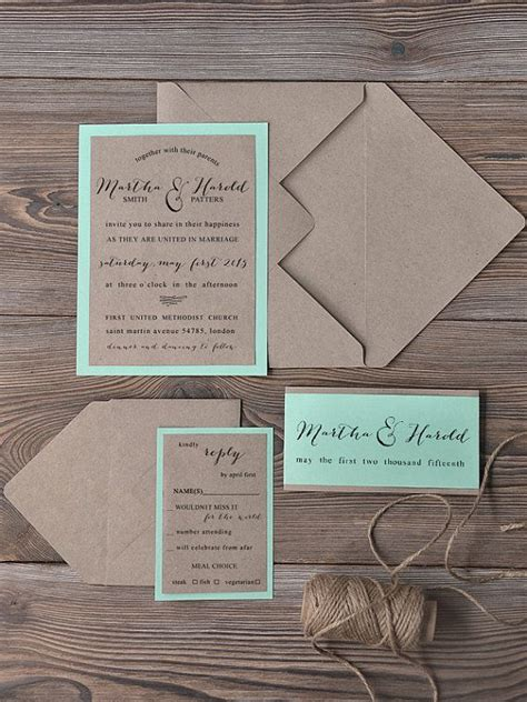 Wedding Invitation Idea by 20 Rustic Wedding Invitations Ideas Rustic Wedding