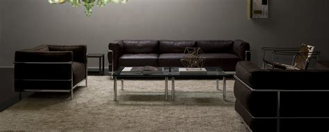 divano le corbusier poltrone e divani lc3 le corbusier jeanneret