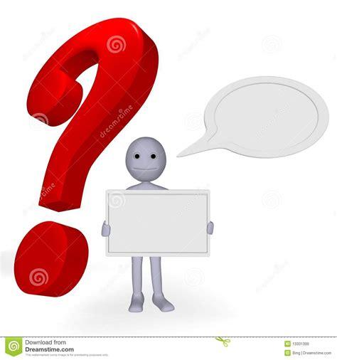 Question Pour Or L Homme Avec Le Papier De Question Pour Le Texte Et Le