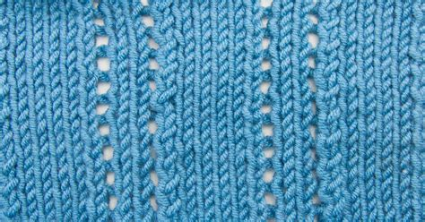 the knit stitch knitting stitches new stitch a day