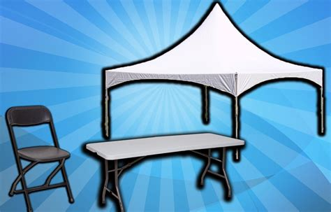 craigslist table and chair rentals tables and chairs rental tent and bounce