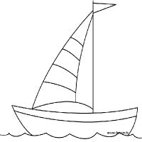 how to draw a kayak boat drawing boat