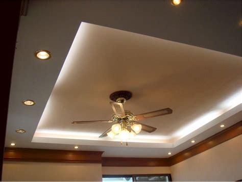 cove ceiling fan bedroom cove lighting with recessed lighting setup and