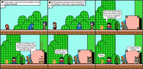 Kaos Seven 8bit Megaman 2 mario vs sonic vs mega comics 8 bit