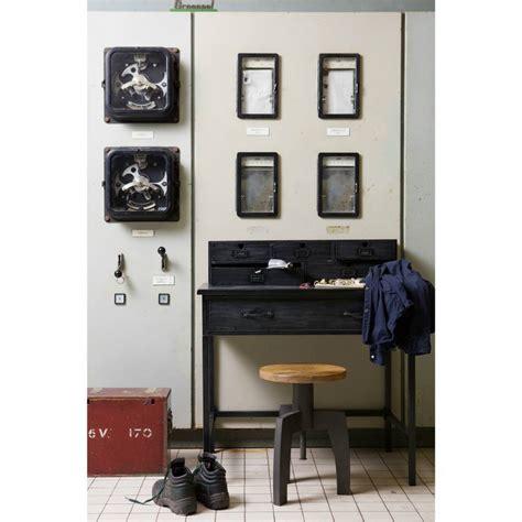 buro zwart bepurehome bureau office buro zwart metaal 98x89x56cm