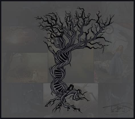 dna tree tattoo dna family tree ideas