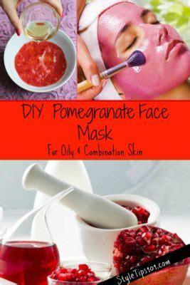 diy mask for combination skin diy pomegranate mask for combination skin