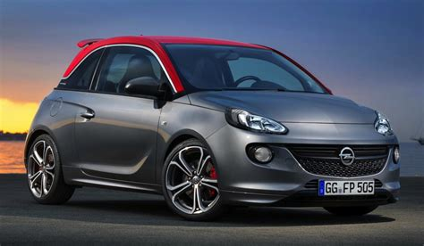 opel adam sporty opel adam s production model revealed