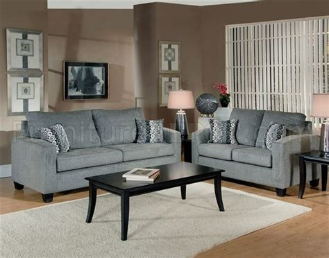 gray furniture living room grey fabric modern living room sofa loveseat set