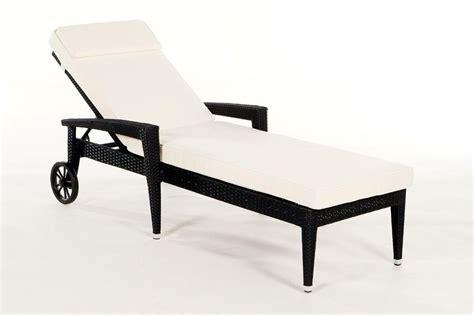 gartenmöbel liege rattan liege sonnenliege liegestuhl florenz schwarz
